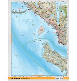 BACKROAD MAPBOOKS BRMB - POWELL RIVER TOPO MAP