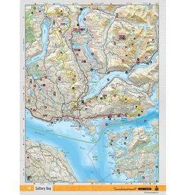 BACKROAD MAPBOOKS BRMB - SALTERY BAY TOPO MAP
