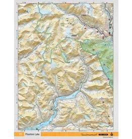 BACKROAD MAPBOOKS BRMB - PHANTOM LAKE TOPO MAP