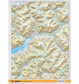 BACKROAD MAPBOOKS BRMB - JULIAN PEAK TOPO MAP