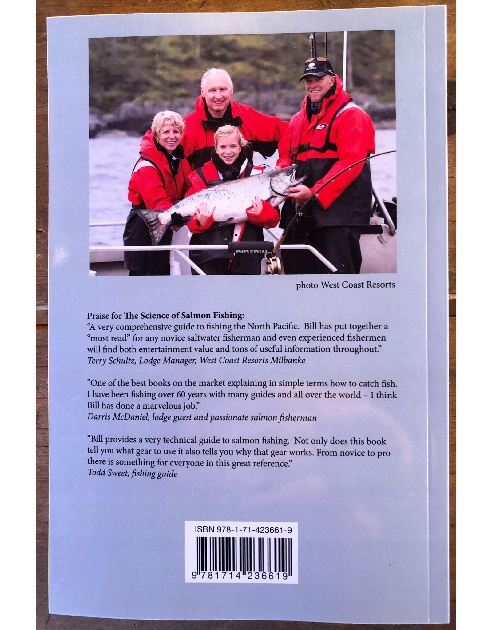 MARINE HAND BOOKS (LEONA 604789-2492 THE SCIENCE OF SALMON FISHING BY BILL HAYMOND