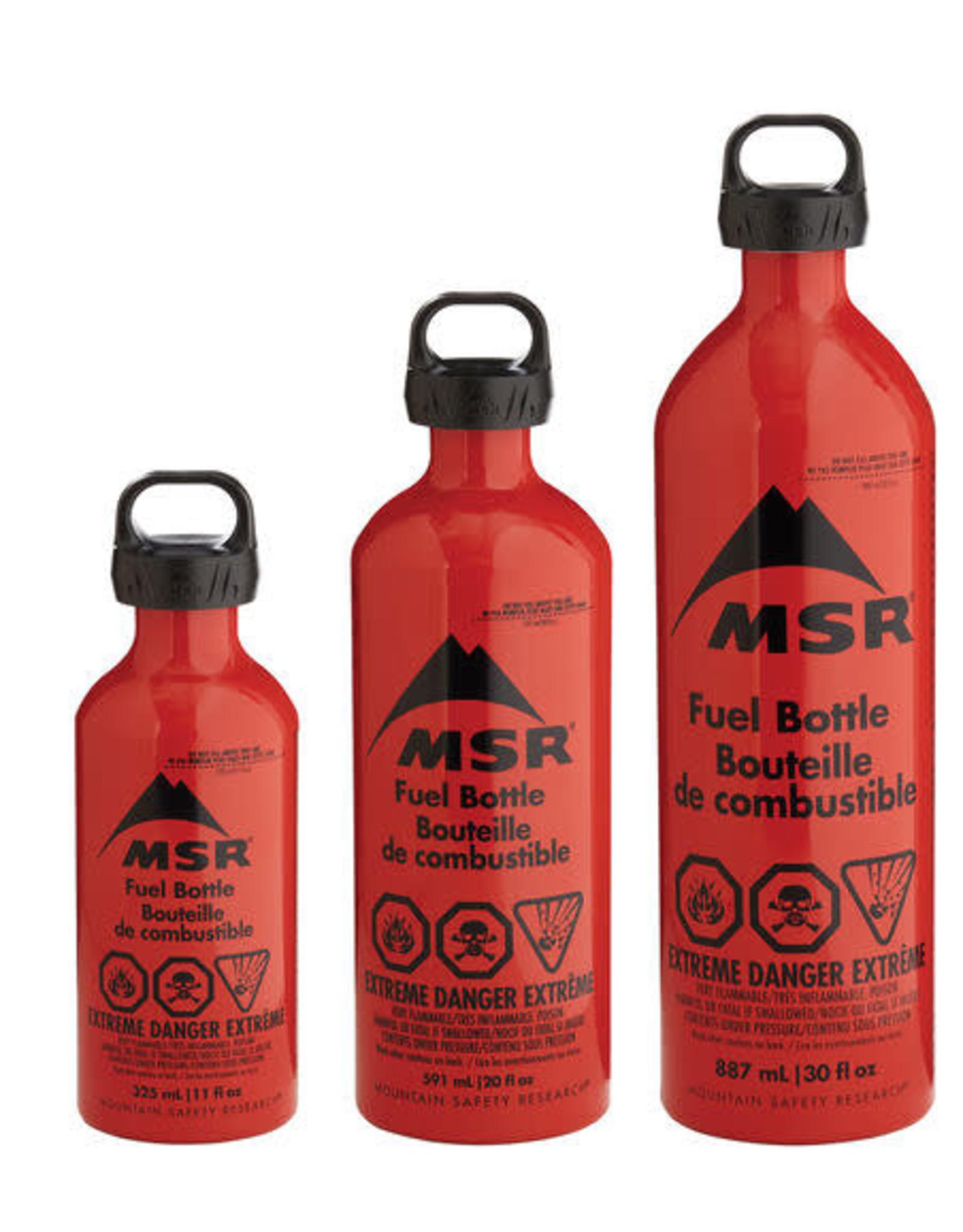 MSR FUEL BOTTLES  $21.99 to $26.99