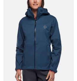 BLACK DIAMOND BLACK DIAMOND WOMEN'S STORMLINE STRETCH RAIN SHELL