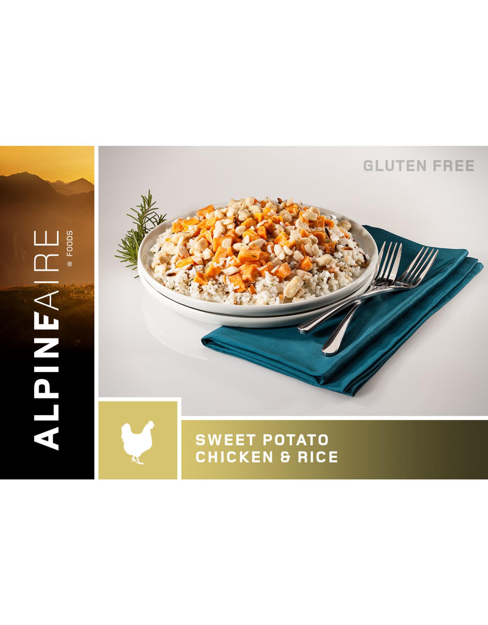 ALPINE FAIRE ALPINE FAIRE SWEET POTATO CHICKEN & RICE