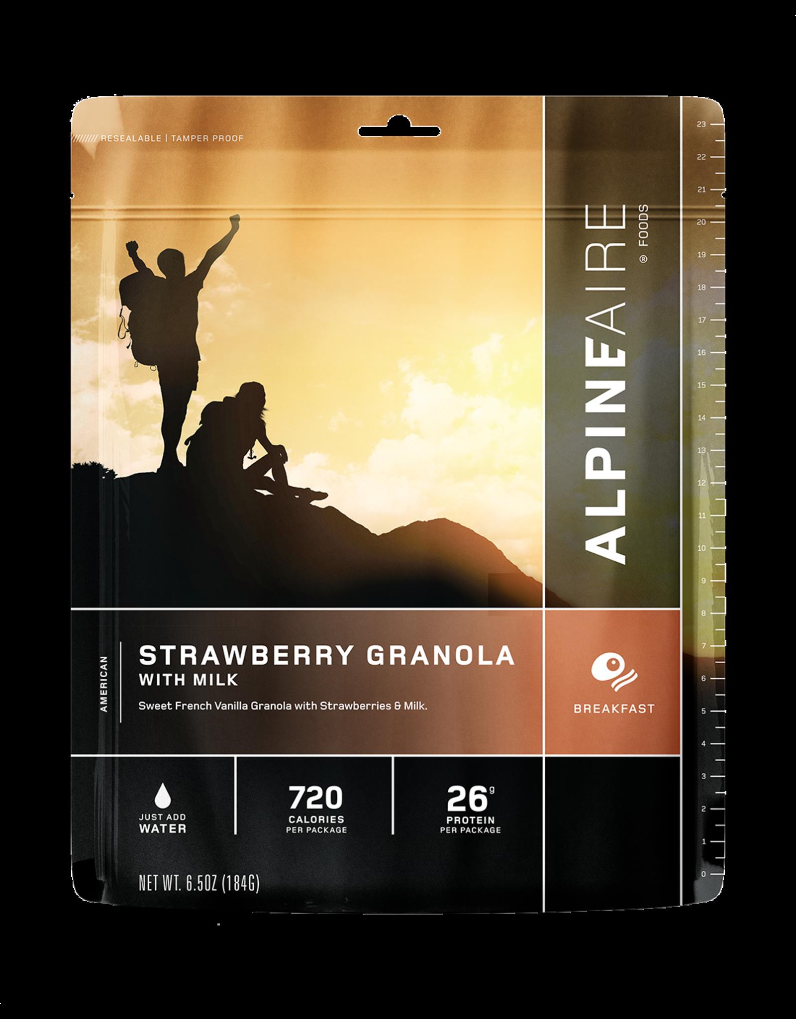 ALPINE FAIRE ALPINE FAIRE STRAWBERRY GRANOLA WITH MILK #60118