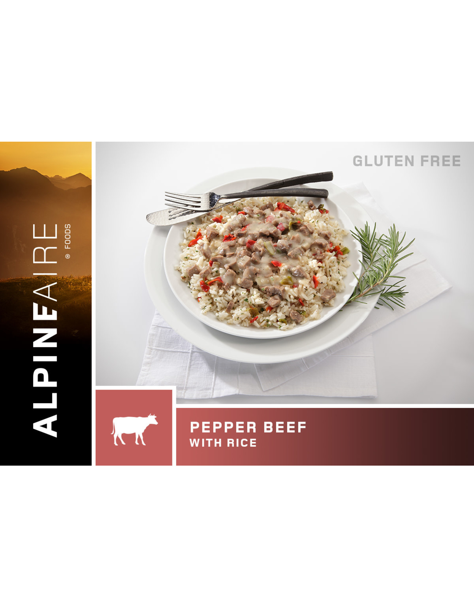 ALPINE FAIRE PEPPER BEEF WITH RICE