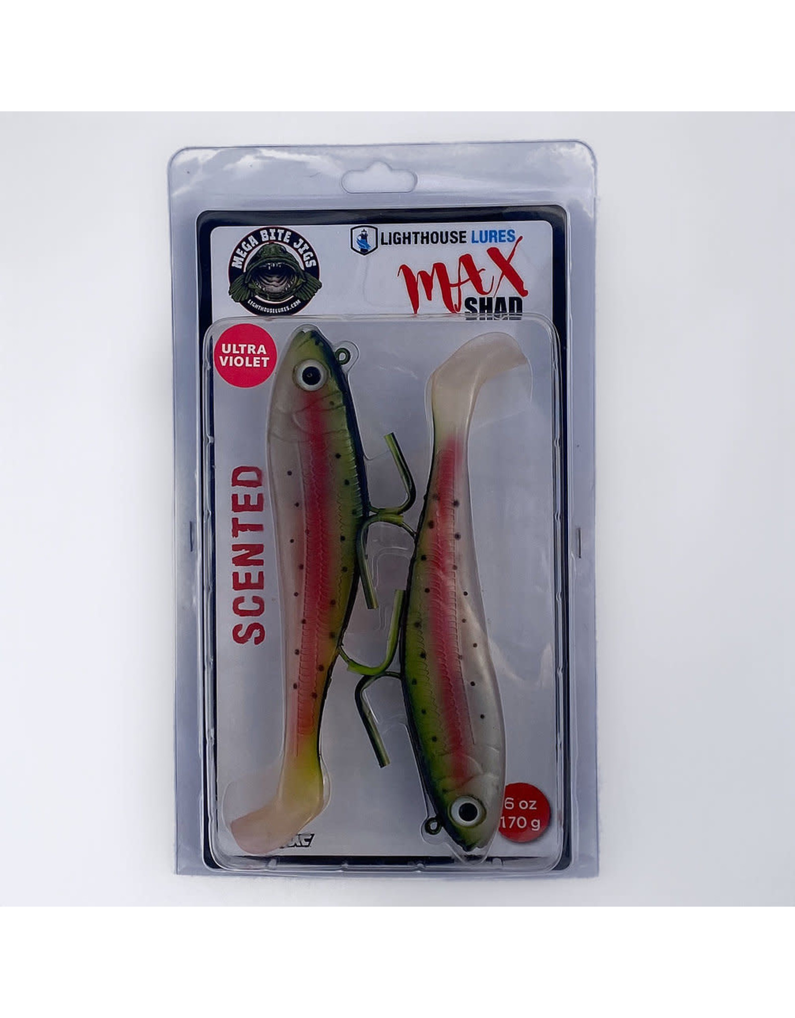LIGHTHOUSE LURES LIGHTHOUSE LURES MAX SHAD 6 oz