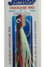 LIGHTHOUSE LURES JUGHEAD SHAKER HOOCHIE RIG (ARMY/GLO)