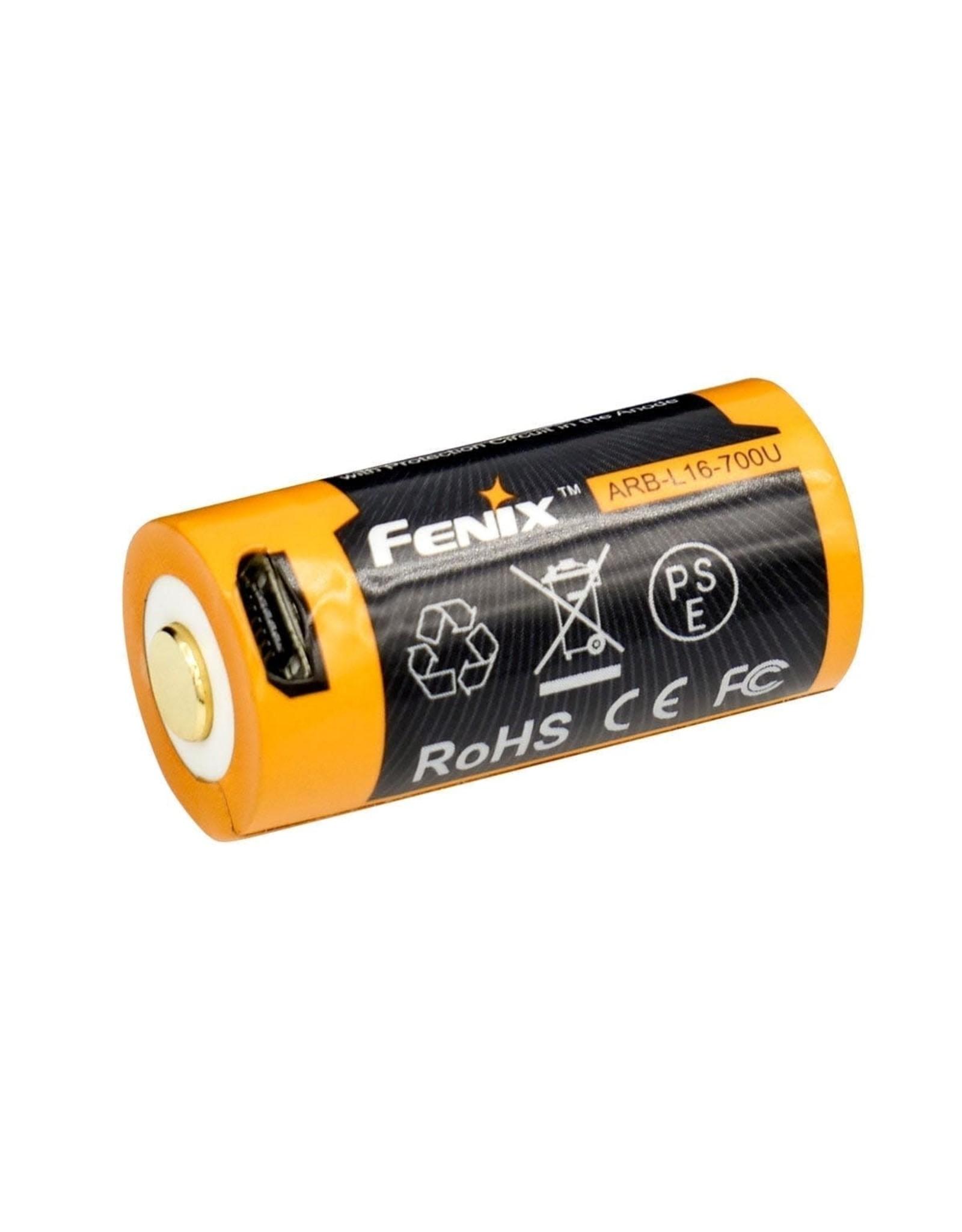 FENIX FENIX ARB-L16-700U USB RECHARGABLE BATTERY