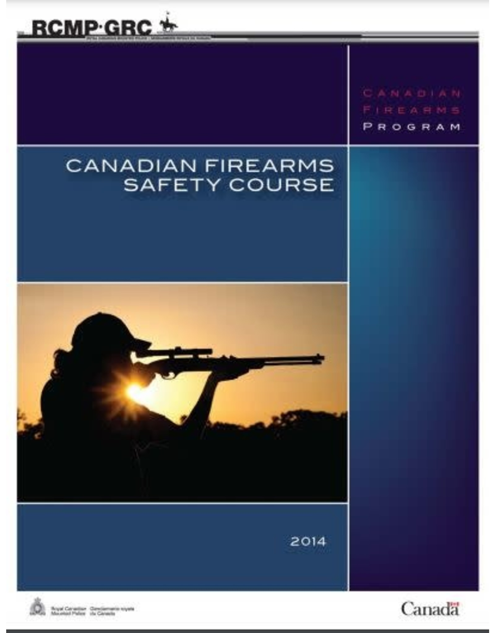 CANADIAN FIREARMS SAFETY COURSE BOOK