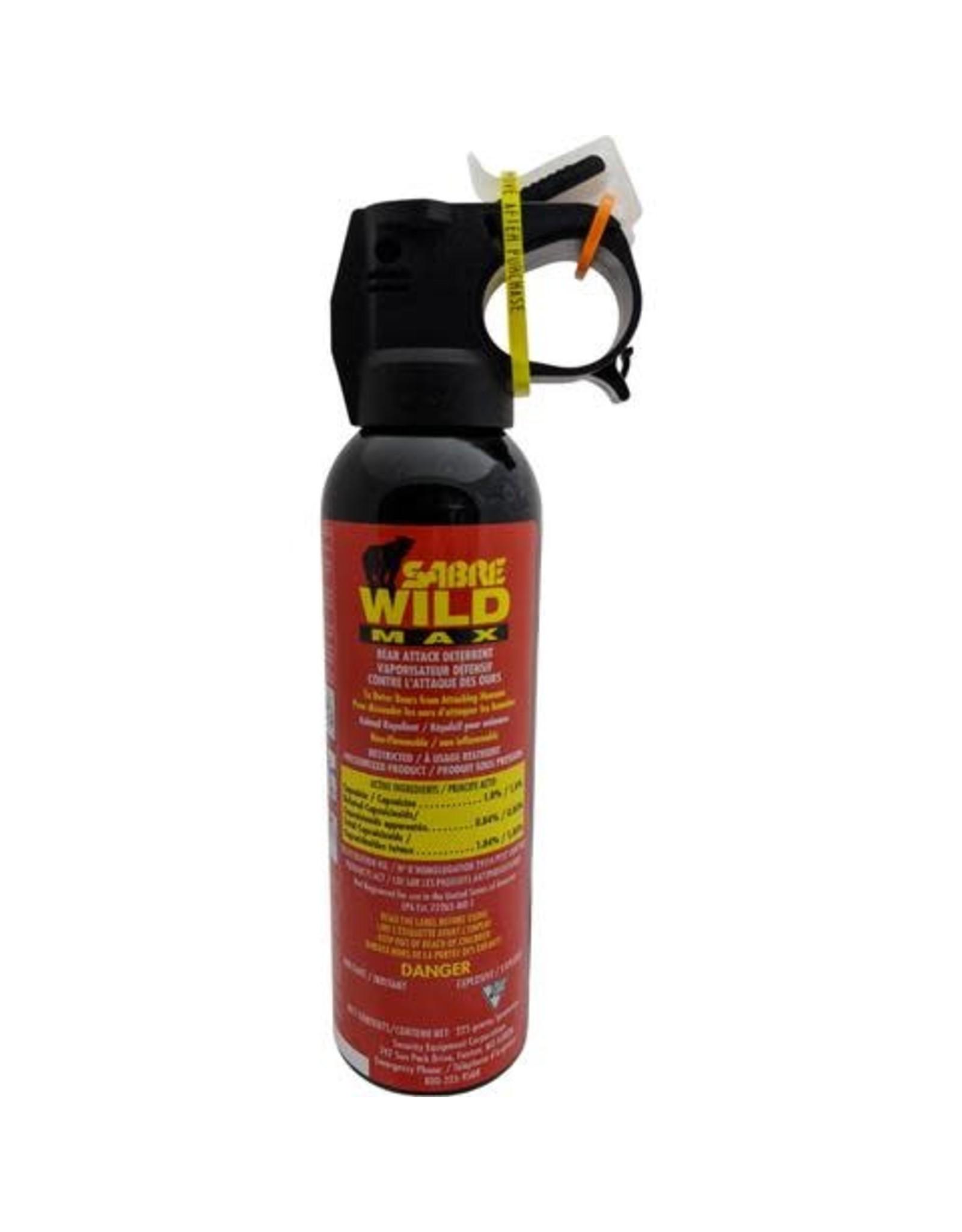KODIAK WILDLIFE PRODUCTS INC. SABRE WILD BEAR SPRAY 225gr