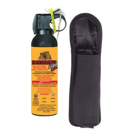 KODIAK WILDLIFE PRODUCTS INC. FRONTIERSMAN BEAR SPRAY W/HOLSTER