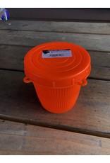 SCOTT PLASTICS LTD. SCOTTY CRAB DINER BAIT JAR (ORANGE)