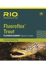 RIO RIO FLUOROFLEX TROUT FLUOROCARBON TAPERED LEADER 9ft