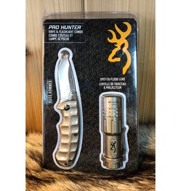 BROWNING PRO HUNTER KNIFE & FLASHLIGHT COMBO