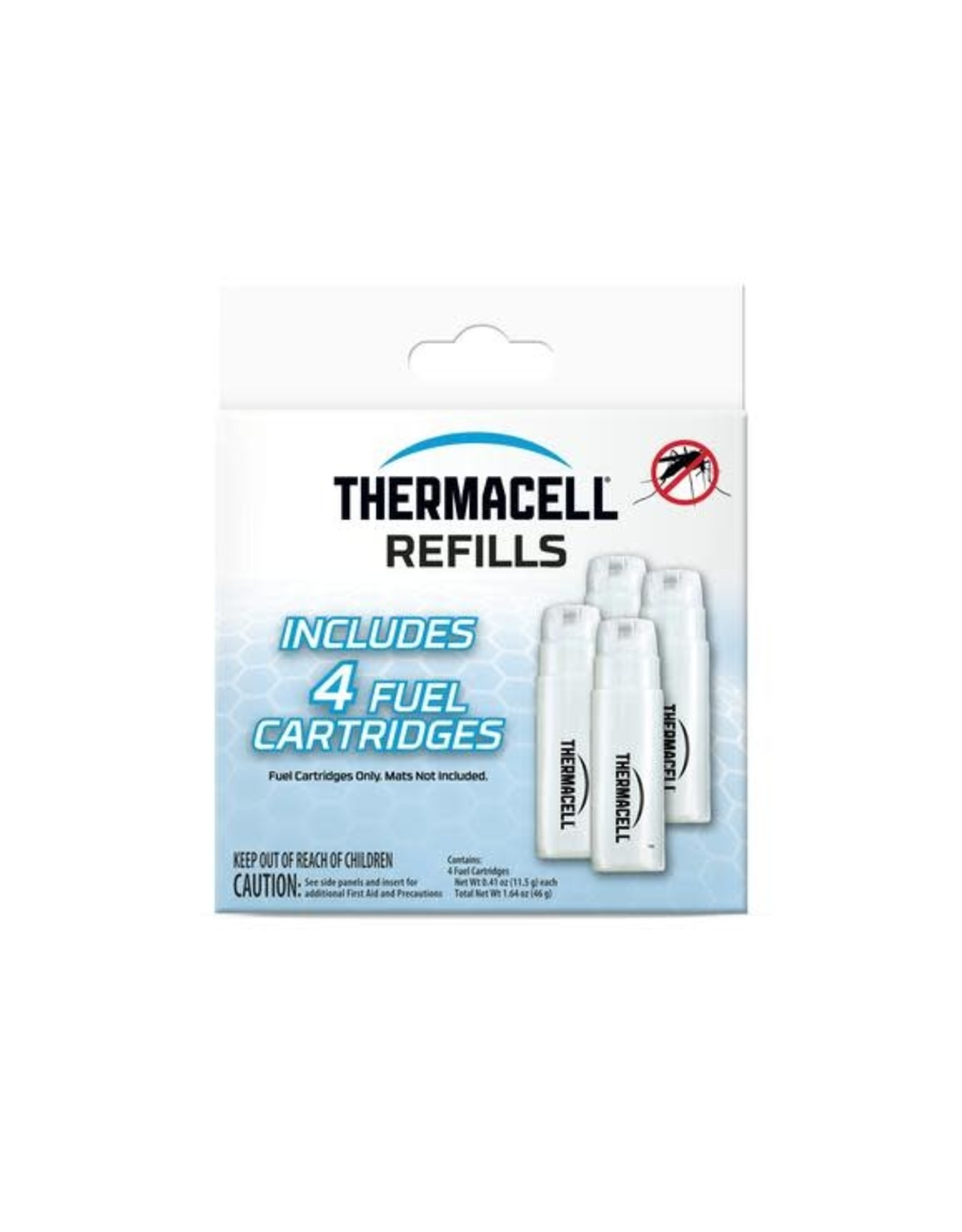 Thermacell Repellents Inc THERMACELL C4CA Fuel Cartridge Refill 4 Pack