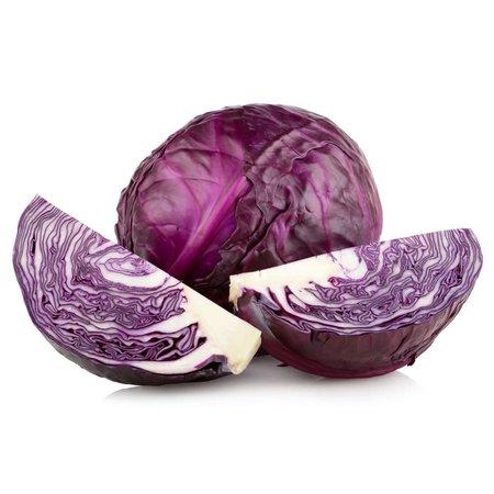 Organic Red Cabbage 1pc