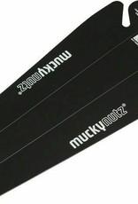 Mucky Nutz Butt Fender: Black
