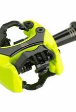 "iSSi iSSi Flash II Pedals - Dual Sided Clipless, Aluminum, 9/16"", Yellow"