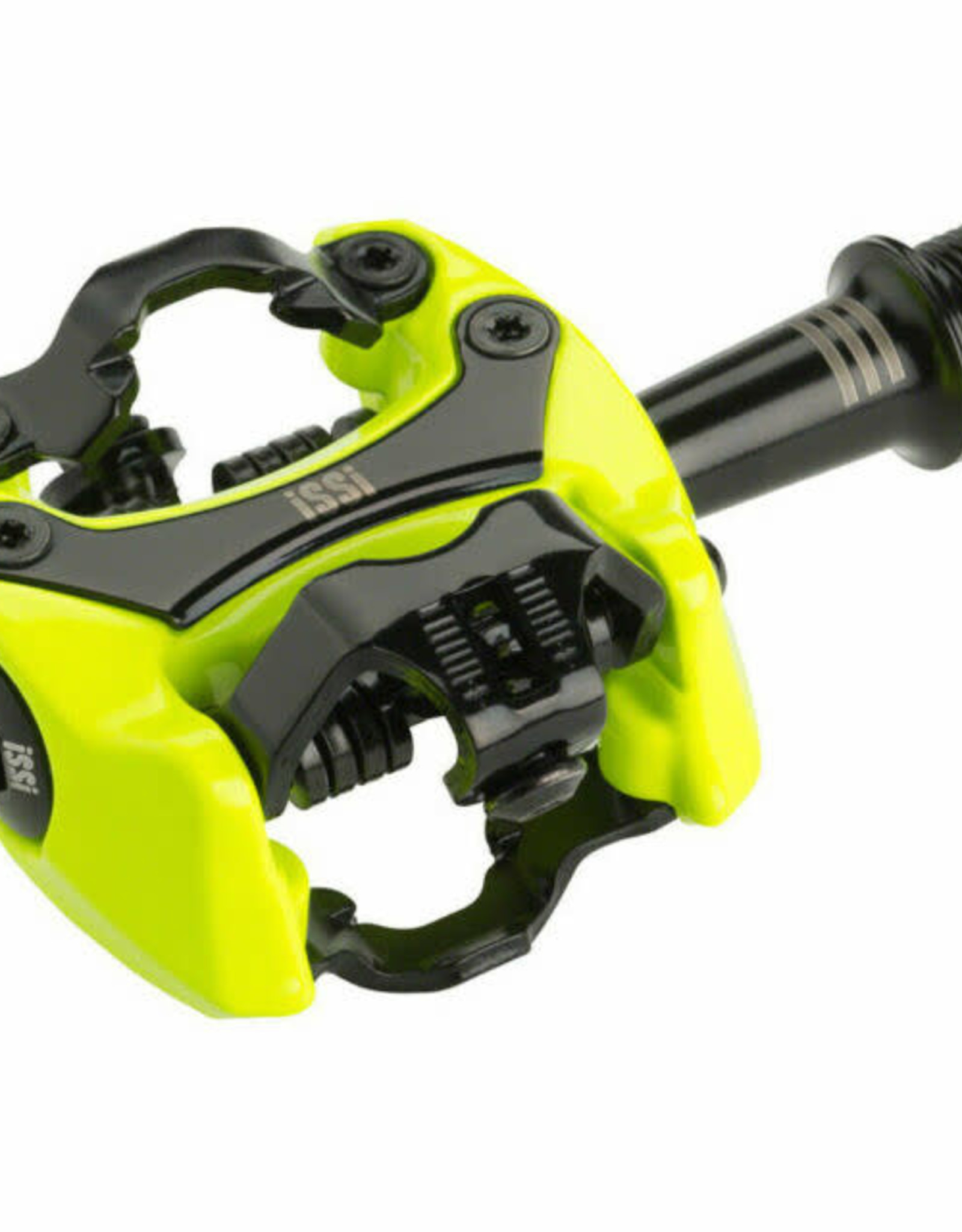 """iSSi Flash II Pedals - Dual Sided Clipless, Aluminum, 9/16"""", Yellow"""