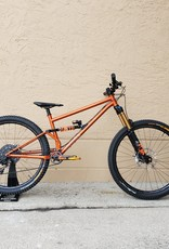 Orange/Black Full Moxie Longer Custom Enduro Build