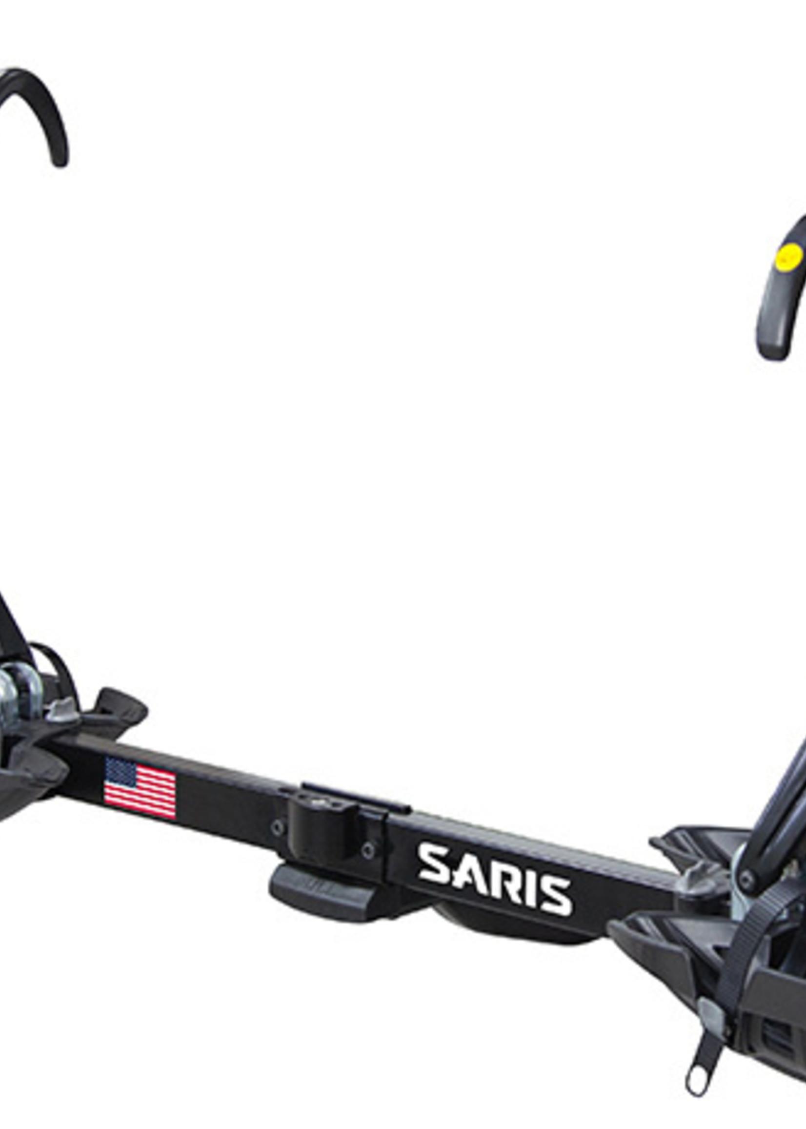 "Saris Saris SuperClamp EX Hitch Bike Rack - 2-Bike, 1-1/4"", 2"" Receiver, Black"
