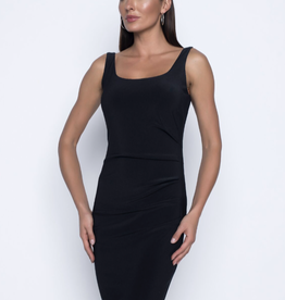 Frank Lyman Fitted, side-ruched dress