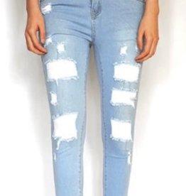 Wakee Onyx Light Faded Designer jeans