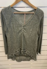 Wednesday Lulu Wednesday Lulu Sage Viscose Jumper
