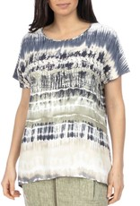 Ping Pong Ping Pong - Drop Shoulder Tie Dyed Top