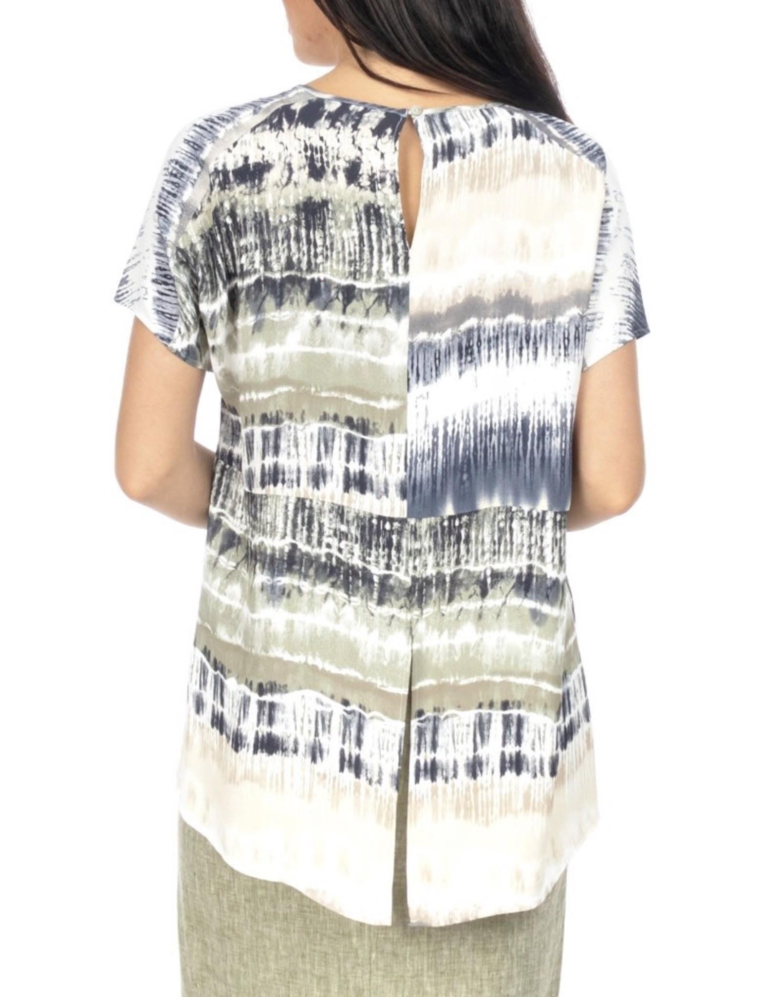 Ping Pong Ping Pong - Drop Shoulder Tye Dyed Top