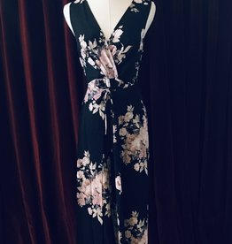 Pantsuit with Crossover Front
