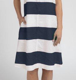 Jump Block Striped Dress