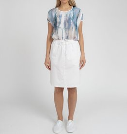 Jump Jump Pocket Detail Linen Skirt