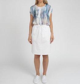 Jump Pocket Detail Linen Skirt