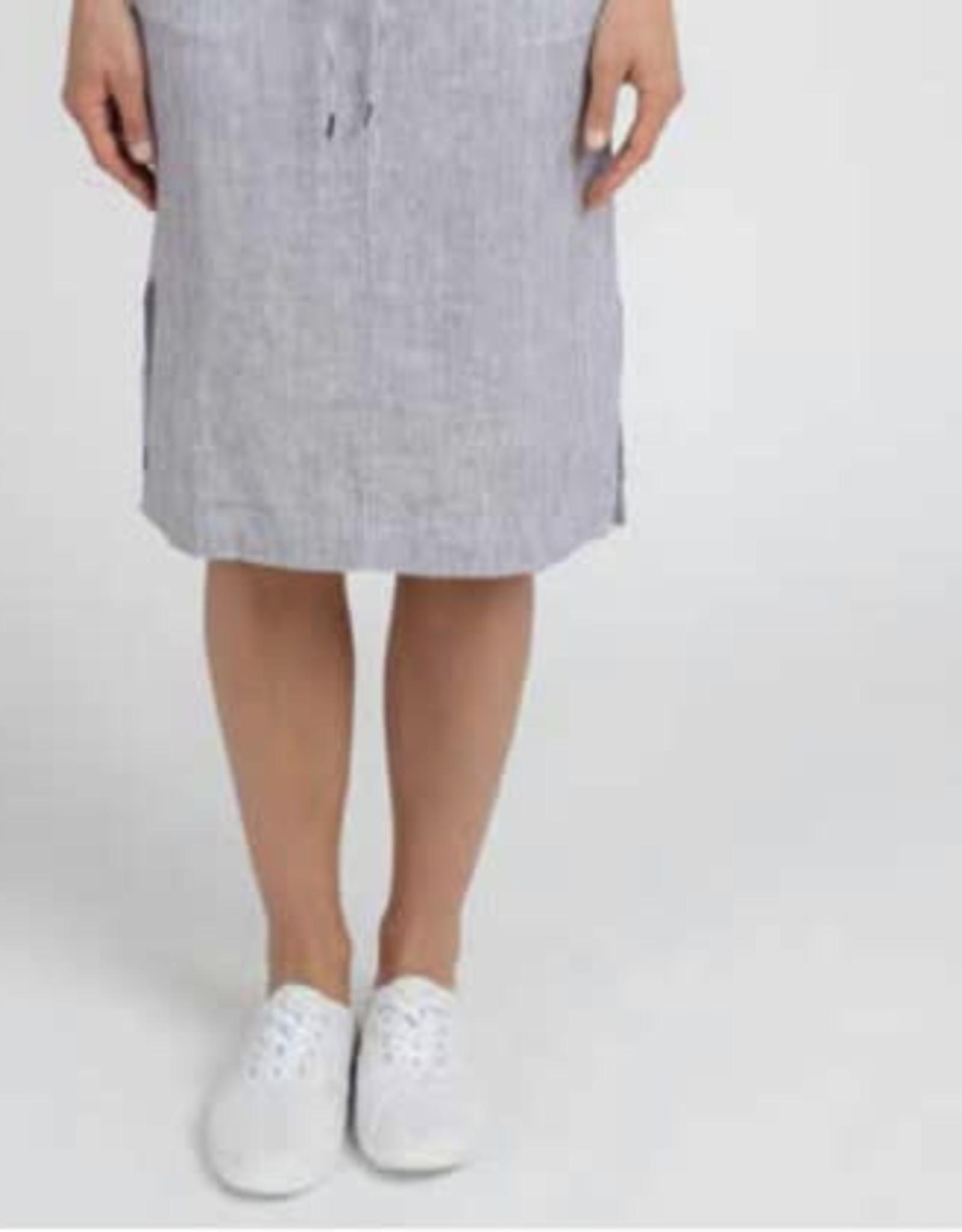 Jump Jump - Stripe Linen Skirt