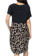 Ping Pong Giraffe Print Dress