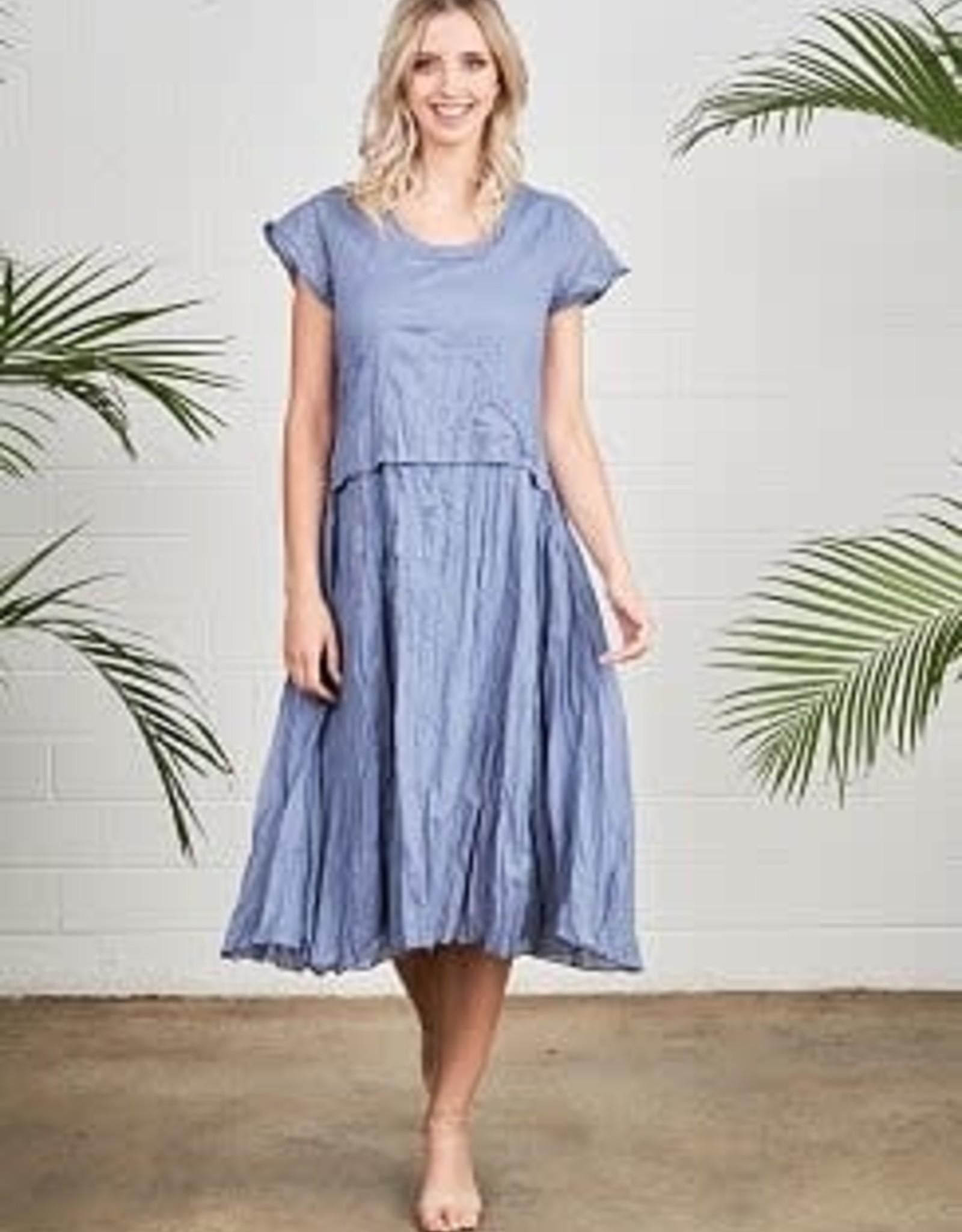 Portobello - Blue Dress with Separate Bodice