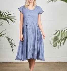 Blue Dress with Separate Bodice