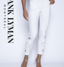 Frank Lyman Frank Lyman  White Cut out Jeans