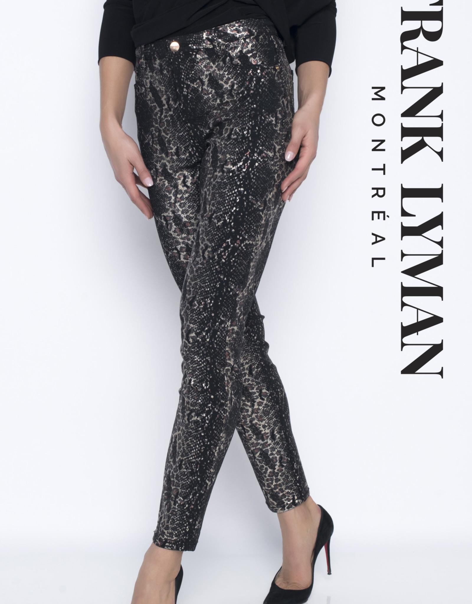 Frank Lyman Frank Lyman Black/Gold Pants