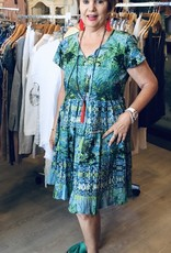 Naudic Naudic Libra dress Ampro Print
