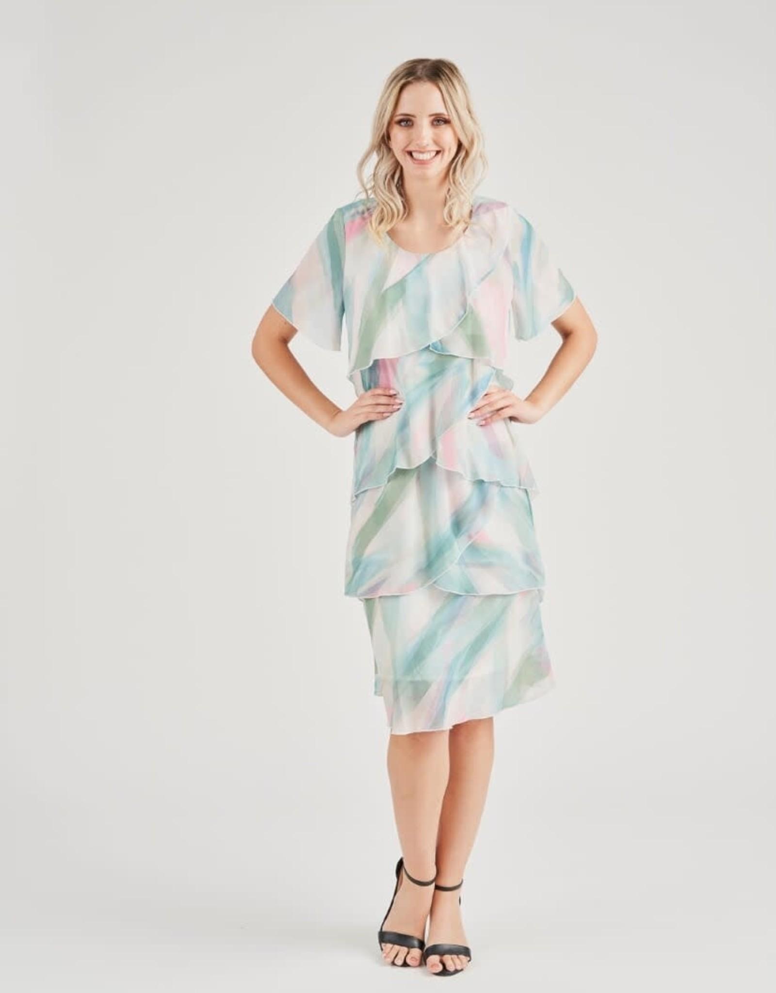Vivid Chiffon Dress