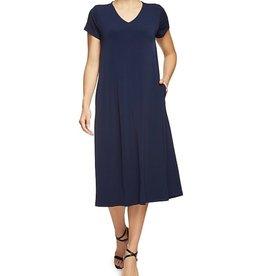 Jersey Girl Jersey Girl Black Hadley dress
