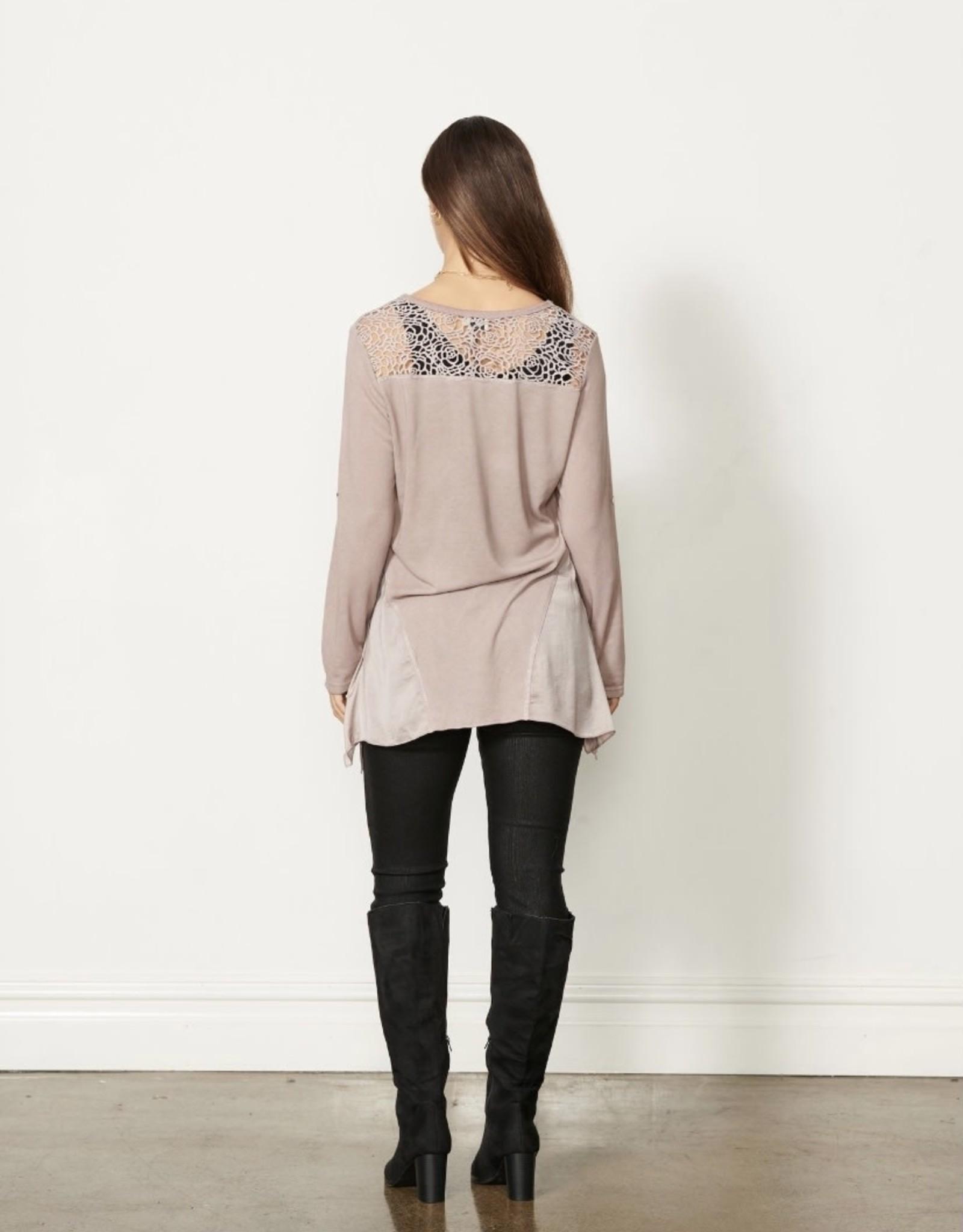 Back Lace Tunic