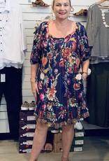Claudia Shirred Dress