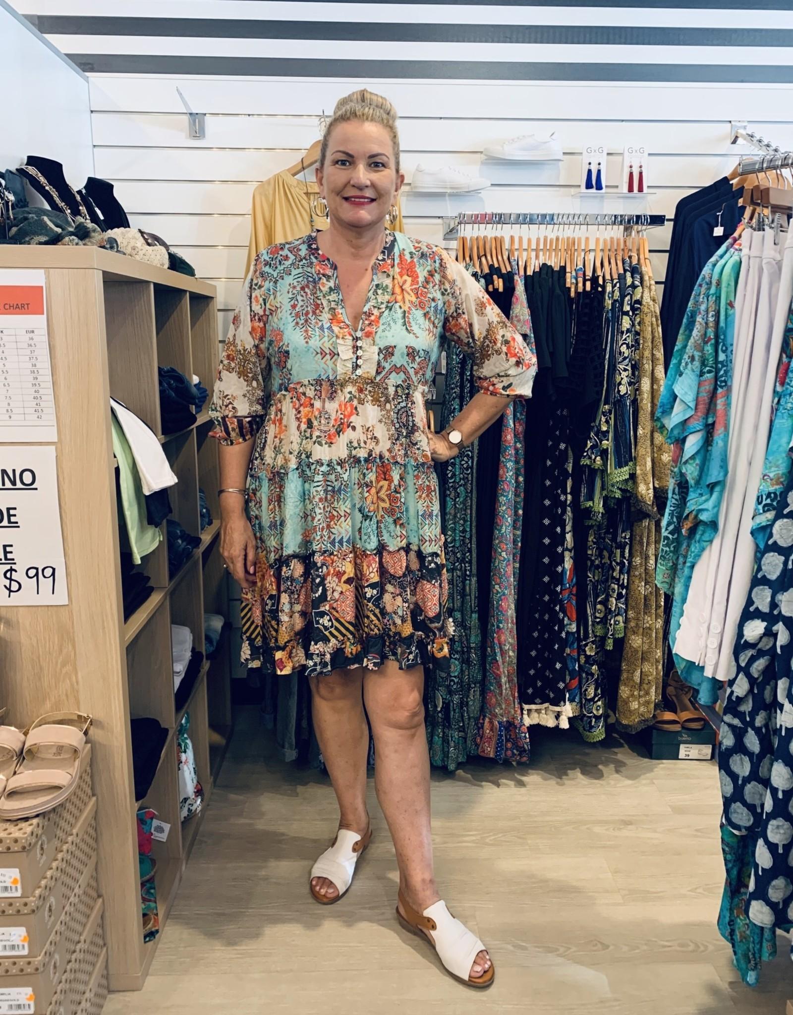 Ingrid Tiered Dress