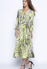 Frank Lyman Frank Lyman Snake Skin Neon Dress