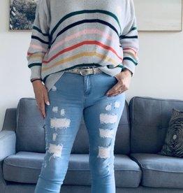 Foil Foil Over the Rainbow Sweater