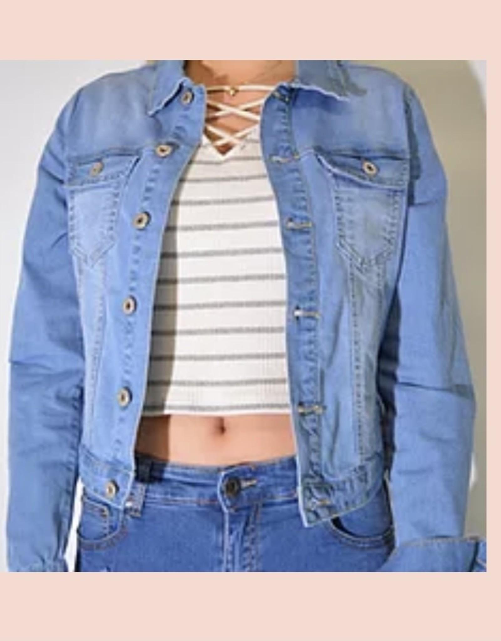 Onyx Denim Jacket